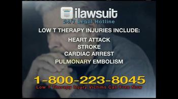 iLawsuit Legal Hotline TV Spot, 'Testosterone' - Thumbnail 8