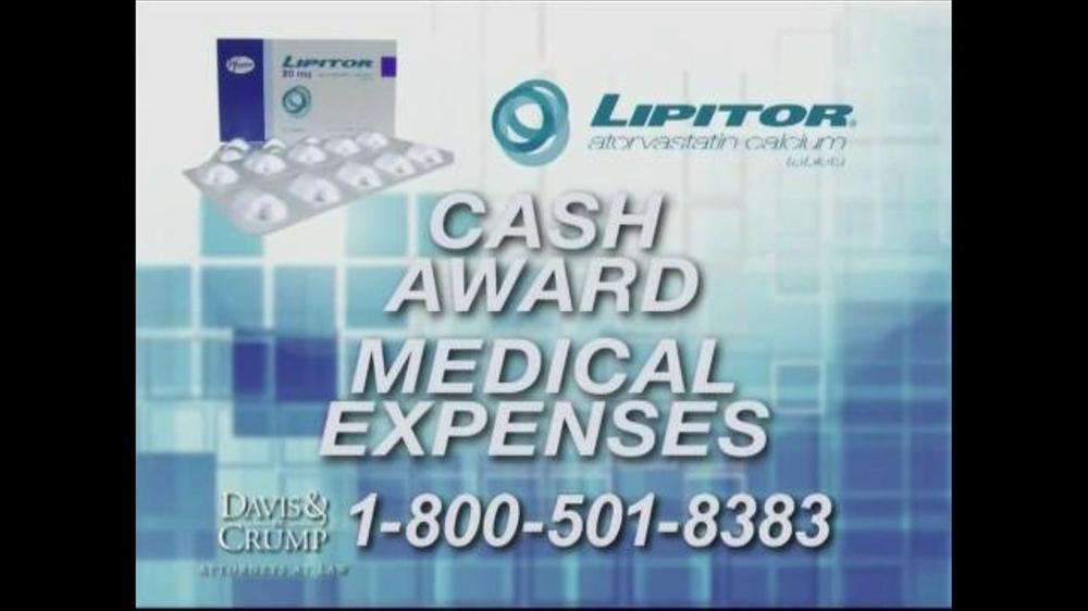 Pulaski Law Firm >> Davis & Crump, P.C. TV Commercial, 'Lipitor Complications' - iSpot.tv
