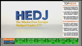 WisdomTree Europe Hedged Equity Fund (HEDJ) TV Spot - Thumbnail 4