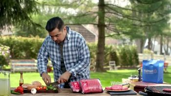 Walmart Ground Beef Hamburger TV Spot Con Aarón Sánchez [Spanish]
