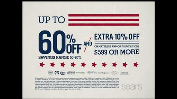 Sears 4th of July Mattress Spectacular TV Spot - Thumbnail 3