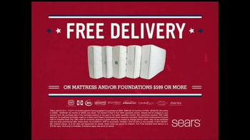 Sears 4th of July Mattress Spectacular TV Spot - Thumbnail 6