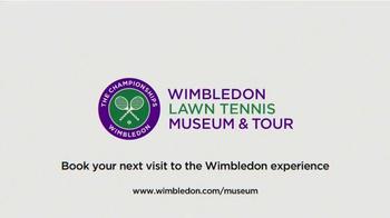 The Wimbledon Lawn Tennis Museum & Tour TV Spot, 'Get Closer' - Thumbnail 10