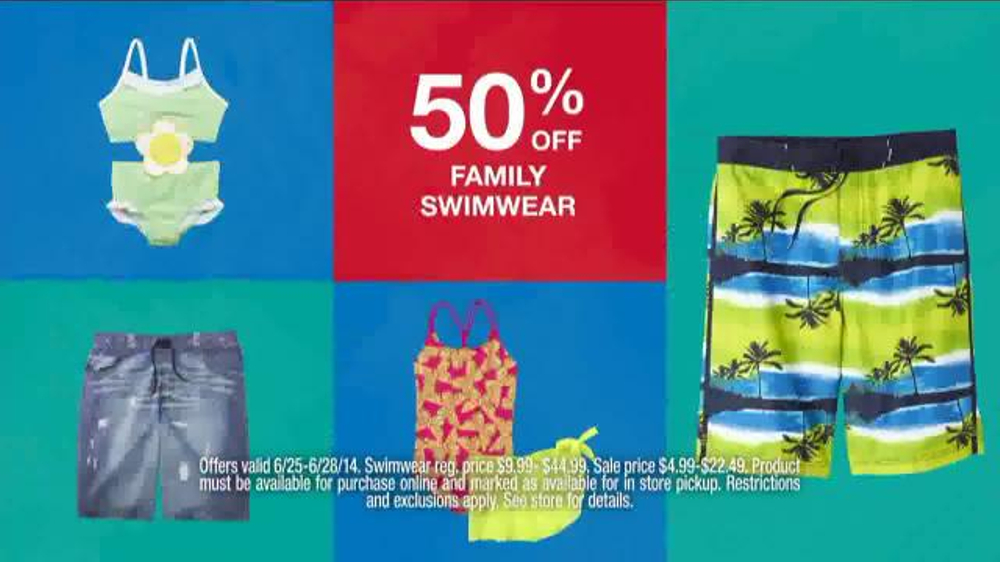 c08cf2b593 Kmart TV Commercial, 'Swimwear' - iSpot.tv