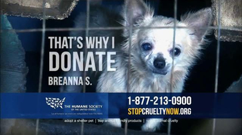 Humane Society TV Spot, 'That's Why I Donate' - Thumbnail 3