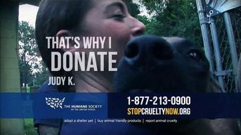 Humane Society TV Spot, 'That's Why I Donate' - Thumbnail 4