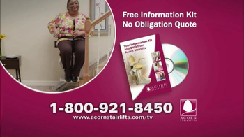 Acorn Stairlifts TV Spot, 'See the Difference' - Thumbnail 10