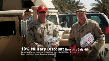 Bass Pro Shops TV Spot, 'Military Discount' - Thumbnail 10