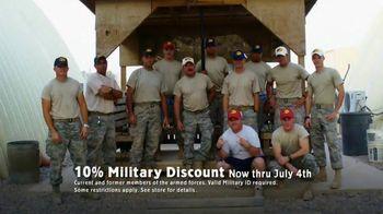 Bass Pro Shops TV Spot, 'Military Discount'