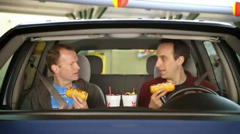 Sonic Drive-In Cheesy Bread Dogs TV Spot, 'Outside Counts' - Thumbnail 4