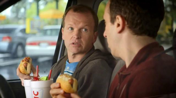Sonic Drive-In Cheesy Bread Dogs TV Spot, 'Outside Counts' - Thumbnail 5