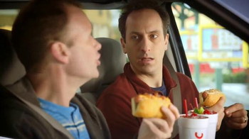 Sonic Drive-In Cheesy Bread Dogs TV Spot, 'Outside Counts' - Thumbnail 6