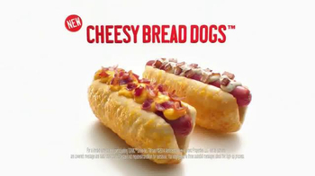 Sonic Drive-In Cheesy Bread Dogs TV Spot, 'Outside Counts' - Thumbnail 9