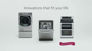 LG Appliances TV Spot, 'Mom Confessions: So Clean' - Thumbnail 9