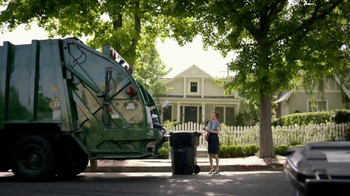 KeyBank Hassle-Free Account TV Spot, 'Garbage Truck' - 63 commercial airings