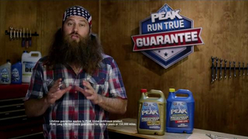 PEAK Radiator Guarantee TV Spot, 'The Jump' Featuring Willie Robertson - Thumbnail 10