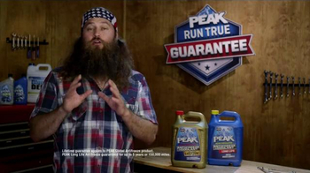 PEAK Radiator Guarantee TV Spot, 'The Jump' Featuring Willie Robertson - Thumbnail 9