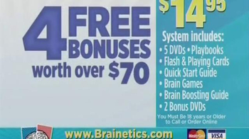 Brainetics TV Spot - Thumbnail 7
