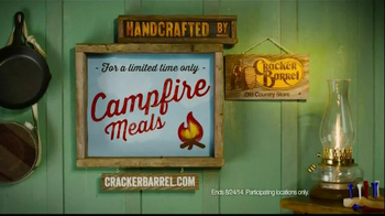 Cracker Barrel Campfire Meals TV Spot - Thumbnail 10