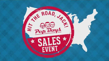 PepBoys Hit the Road, Jack! Sales Event TV Spot