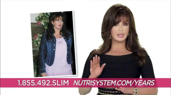 Nutrisystem Fast 5 TV Spot, 'Years' Featuring Marie Osmond - 319 commercial airings