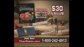 Titan Peeler TV Spot, 'Cuts Prep Time in Half'
