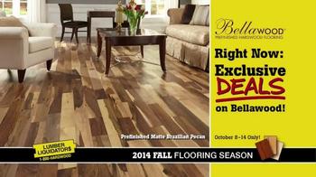 Lumber Liquidators TV Spot, 'Bellawood' - Thumbnail 4