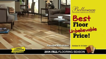Lumber Liquidators TV Spot, 'Bellawood' - Thumbnail 5
