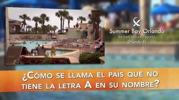 Summer Bay Orlando TV Spot, 'Su Destino' [Spanish]