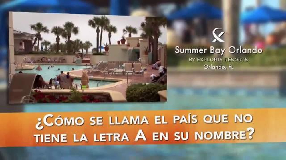 Summer Bay Orlando TV Commercial, 'Su Destino'
