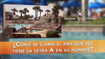 Summer Bay Orlando TV Spot, 'Su Destino' [Spanish]