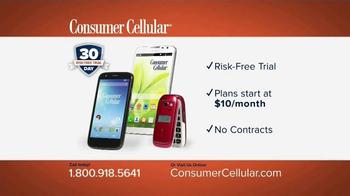 Consumer Cellular TV Spot, 'Plans That Fit You: Plans $10+ a Month' - Thumbnail 10