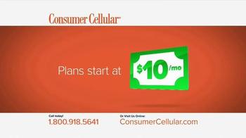 Consumer Cellular TV Spot, 'Plans That Fit You: Plans $10+ a Month' - Thumbnail 4