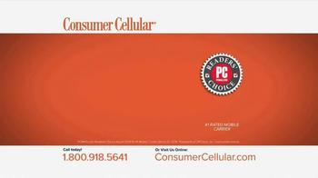 Consumer Cellular TV Spot, 'Plans That Fit You: Plans $10+ a Month' - Thumbnail 6