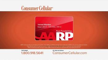 Consumer Cellular TV Spot, 'Plans That Fit You: Plans $10+ a Month' - Thumbnail 7