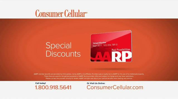 Consumer Cellular TV Spot, 'Plans That Fit You: Plans $10+ a Month' - Thumbnail 8