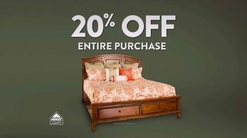 Ashley Furniture Homestore TV Spot, 'Columbus Day Sale' - Thumbnail 4