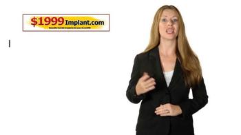 1999Implant.com TV Spot, 'Top Quality' - Thumbnail 4