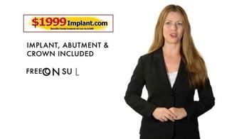 1999Implant.com TV Spot, 'Top Quality' - Thumbnail 5