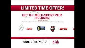 Dish Network Multi-Sport Pack TV Spot, 'More Sports' - Thumbnail 4