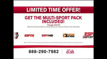 Dish Network Multi-Sport Pack TV Spot, 'More Sports' - Thumbnail 5