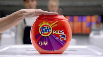 Tide PODS TV Spot, 'Do the Pop' - Thumbnail 6