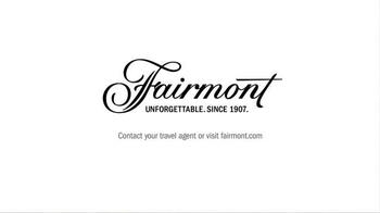 Fairmont TV Spot, 'Unwind' - Thumbnail 10