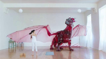 POM Wonderful TV Spot, 'Crazy Healthy Dragon' - Thumbnail 3