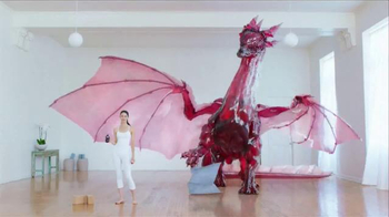 POM Wonderful TV Spot, \'Crazy Healthy Dragon\'