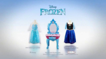 Frozen Talking Vanity TV Spot, 'Magical Light Up Dress' - Thumbnail 10