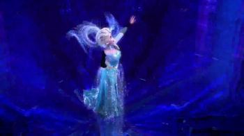 Frozen Talking Vanity TV Spot, 'Magical Light Up Dress' - Thumbnail 5