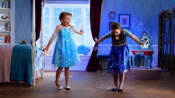 Frozen Talking Vanity TV Spot, 'Magical Light Up Dress' - Thumbnail 6