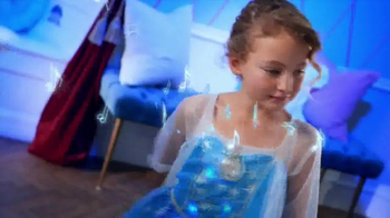Frozen Talking Vanity TV Spot, 'Magical Light Up Dress' - Thumbnail 7