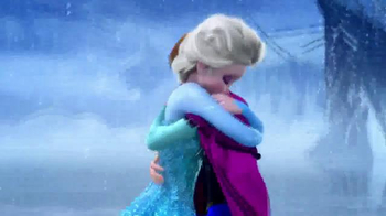 Frozen Talking Vanity TV Spot, 'Magical Light Up Dress' - Thumbnail 8